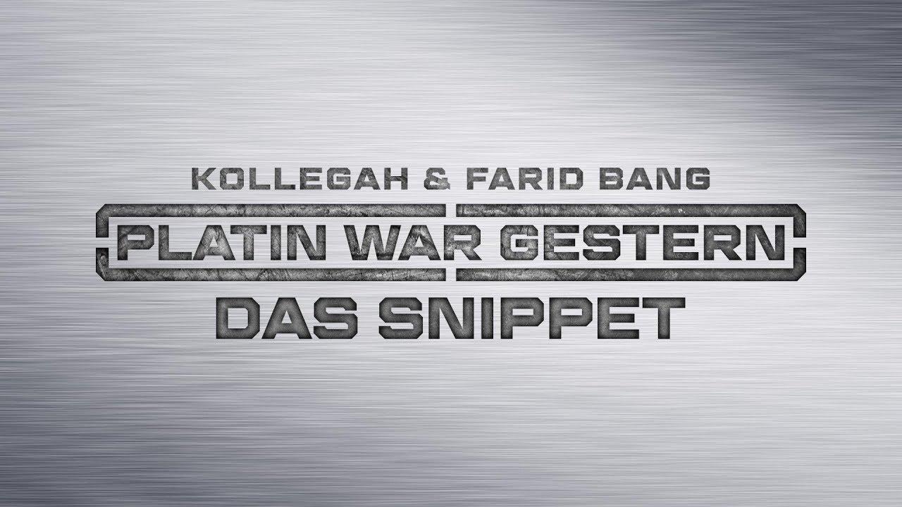 Platin War Gestern Cover