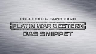 Baixar Kollegah & Farid Bang ✖️ PLATIN WAR GESTERN ✖️ [ Das Snippet ]