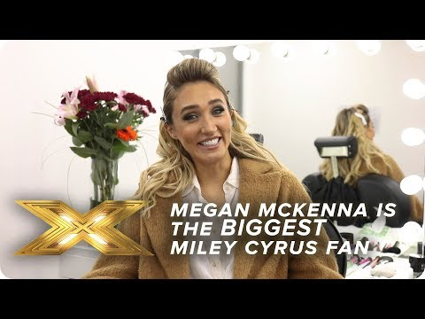 Megan McKenna is the BIGGEST Miley Cyrus fan | X Factor: Celebrity