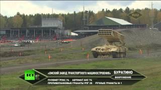 Показательные выступления на X Международной выставке вооружений