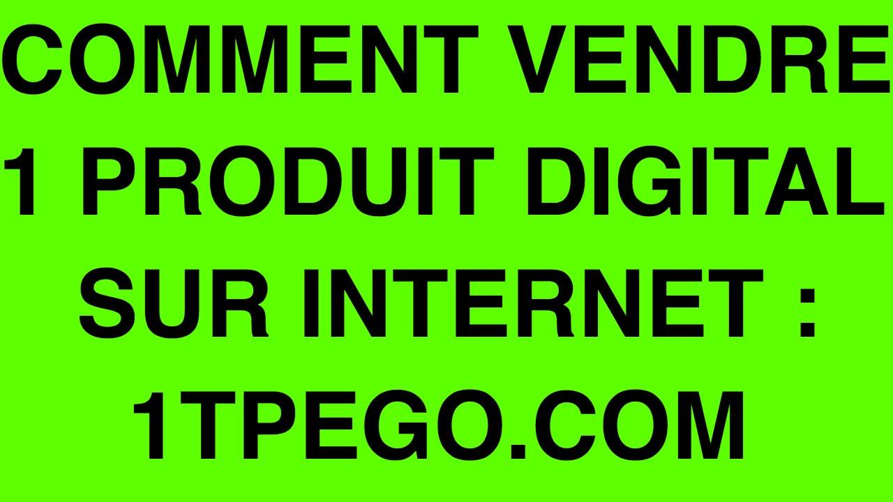 Formation gratuite : comment vendre son produit sur internet. 1TPEGO