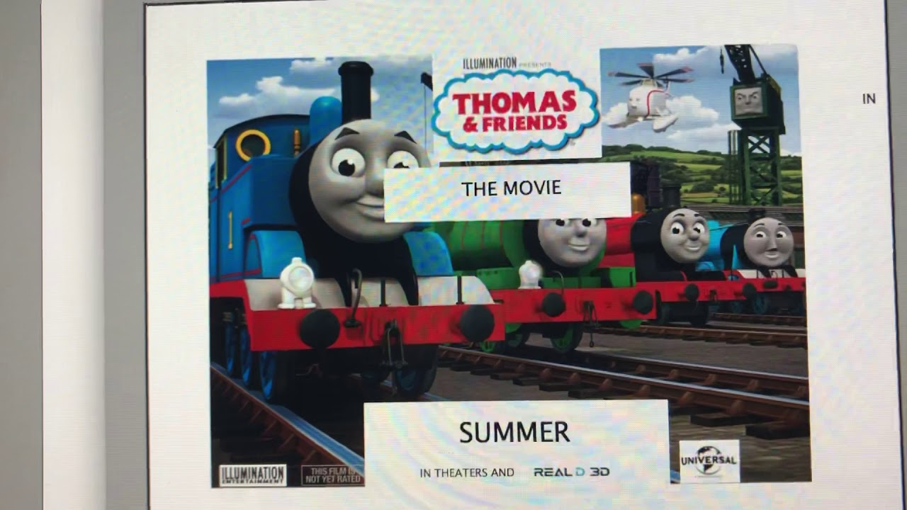 Thomas & Friends The Movie Official 2019 Poster