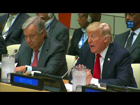 President Participates in the Reforming the United Nations Meeting