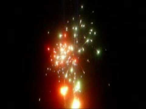 PRETTY & LOUD FIREWORK DISPLAY,entertaining drama in the night sky