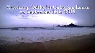 Hurricane Odile hits Cabo San Lucas