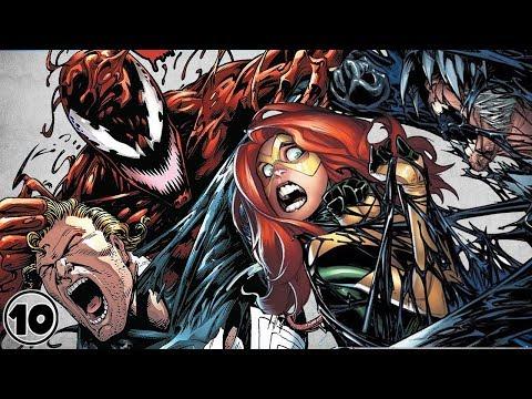 Top 10 Scary Venom Moments