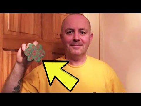 Man Finds Old Buried Chain, His Gut Then Tells Him To Keep Pulling