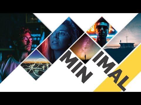 Minimal PowerPoint Slide Tutorial 2019