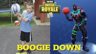 Twin vs Twin: Fortnite Dance Challenge In Real Life 4