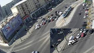 """Разборки на дороге """"Павловская площадь"""" Харьков 29.08.2018"""