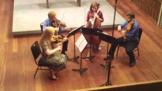 "Ars Nova String Quartet - Haydn: ""Lark"" Quartet: Fourth Movement"