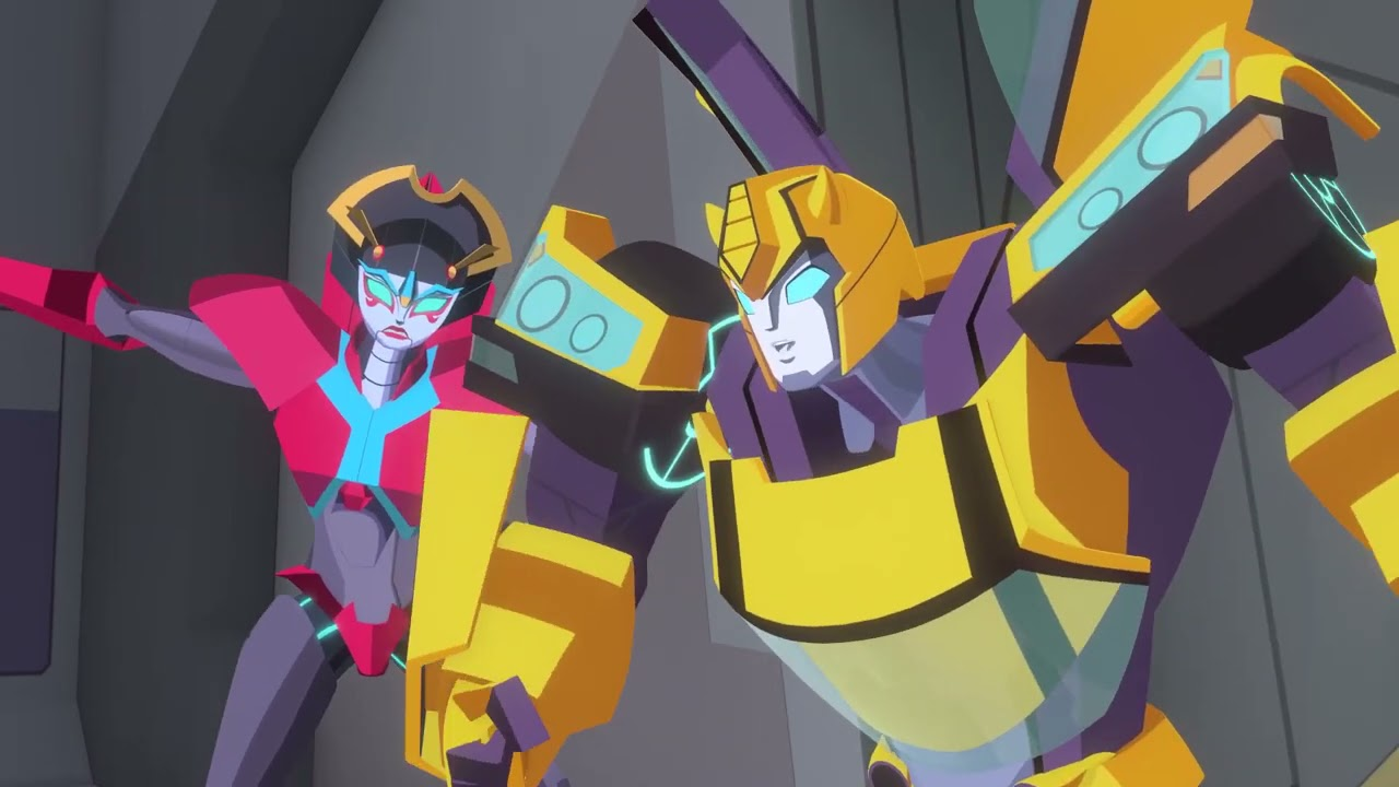 Autobots VS Decepticons! | Bumblebee Cyberverse Adventure | Transformers Official