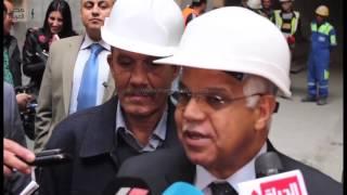 مصر العربية | وزير النقل يتفقد الخط الرابع لمترو الأنفاق