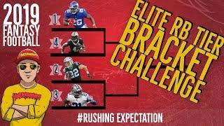 WHO should I DRAFT Number 1? 🏈 RB Tier - BRACKET CHALLENGE [Running Back Stats] #RushingExpectation Video