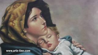 La Zingarella - Roberto Ferruzzi - riproduzione ad olio