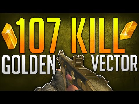 107 Kills Gold Vector - Star Wars! (Black Ops 2)