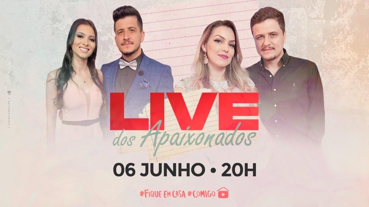 Live dos Apaixonados André e Felipe  #FiqueEmCasa e Cante #Comigo