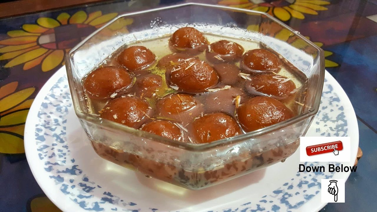 how to make gulab jamun at home in hindi video