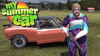 STARY WSTAŁ I MA BROŃ! - My Summer Car #124
