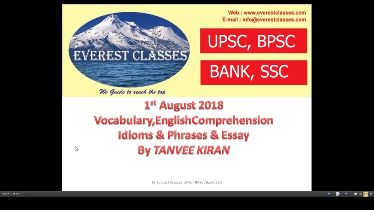1st august 2018 The Hindu Editorial Vocabulary ,English  Comprehension,Idioms &Phrases & Essay