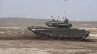 Открытие всероссийского этапа конкурсов «Танковый биатлон» и «Суворовский натиск» в рамках АРМИ-2018