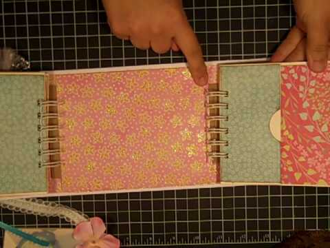 Mothers Day Mini Album Gatefold Style Using The Bind It All Youtube