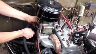 ГАЗ 69 Запуск нового двигателя!