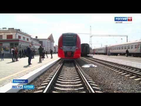 Новая «Ласточка» домчит барнаульцев до Новосибирска за три часа