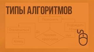 видео Виды алгоритмов