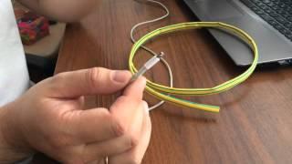 ремонт оригинального USB кабеля от iPhone, iPad(Ремонт оригинального USB кабеля от iPhone, iPad. ремонтируем развалившуюся изоляцию. Сорри, видос первый, снял..., 2015-09-27T06:04:55.000Z)