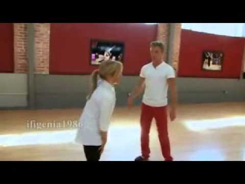 Shawn Johnson & Derek Hough - Promo shooting and First meeting - Dancing with the stars