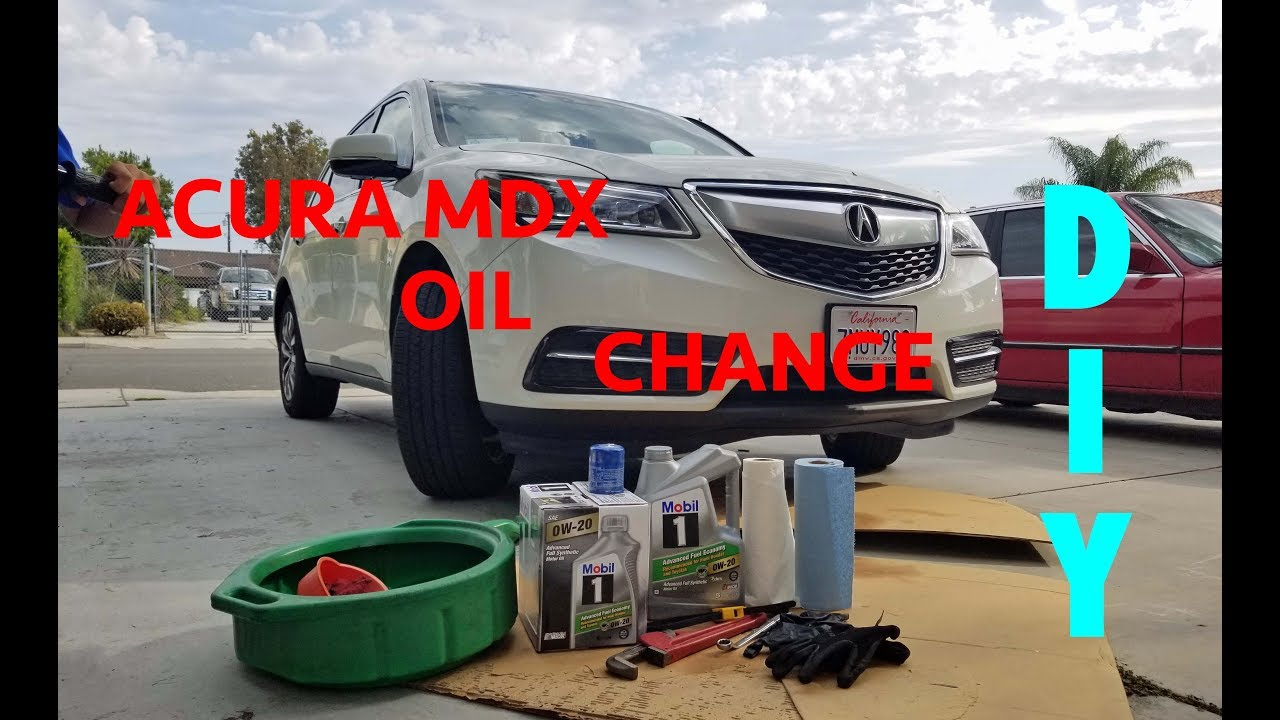 watch change youtube filter oil tsx acura