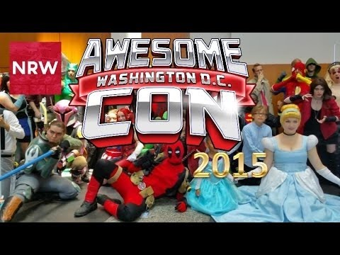 NRW! CosLove! @AwesomeCon 2015! Event Coverage!