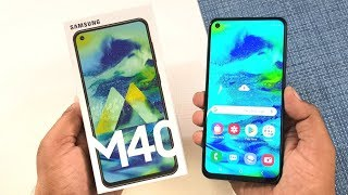 Samsung Galaxy M40 Unboxing & Full Review