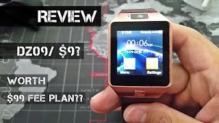 DZ09 Smart Watch Review/ Is It Worth $9?