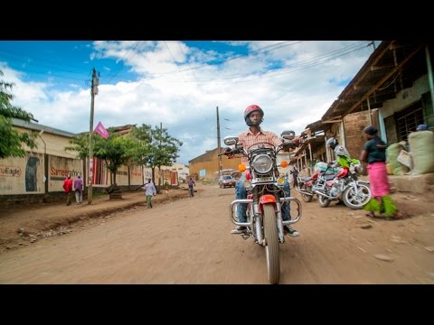 Motorbike scheme breaks cycle of unemployment in Tanzania