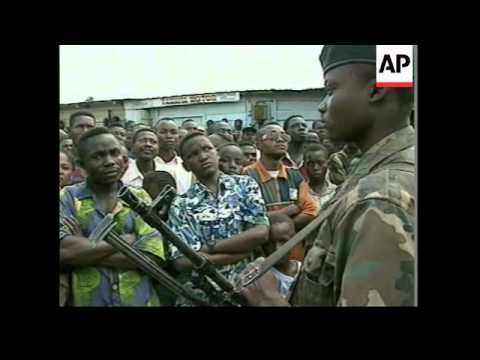CONGO: AFRICAN DIPLOMATS MEET REBEL LEADERS