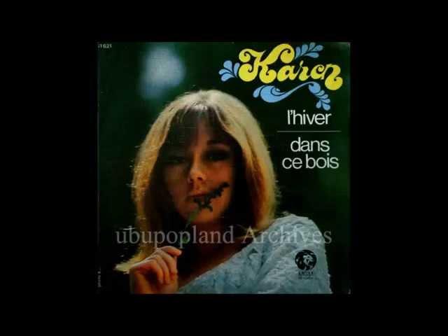 Karen - Dans ce bois - Mexican Girl French 60s Pop-sike