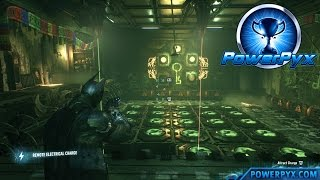 Batman Arkham Knight - Riddler Trial #10 Walkthrough (Nine Lives Trophy / Achievement Guide)
