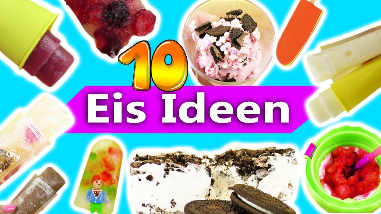 10 Tolle Eis Ideen Super Leckere Ideen Fur Eis Zum Selbermachen
