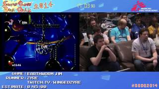 Summer Games Done Quick 2014 - Part 26 - Earthworm Jim