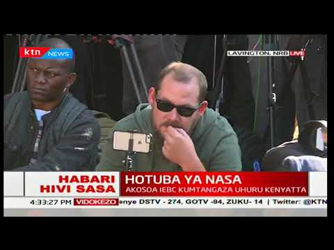 Raila Odinga declares NASA's next move