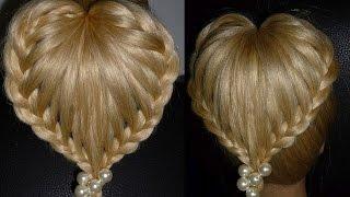 Плетение кос.Плетение волос.