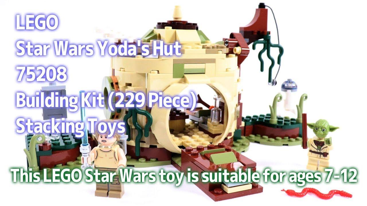 75208 LEGO Star Wars Yoda/'s Hut 229 Pieces