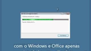 Criando imagem do sistema no Windows 7