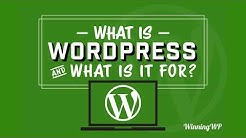 What Is WordPress - And What Is It Used For?