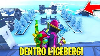 "EXPLORE the CITY SEGRETA OF FORTNITE' ICEBERG!! Look what I FOUND ""Glitch"""