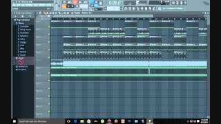 Future Ft Drake - Where Ya At Instrumental FL Studio FLP