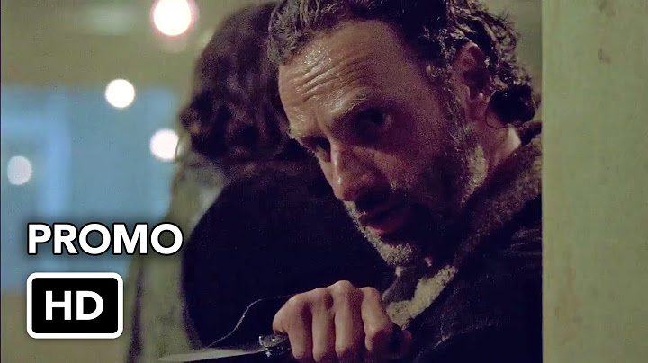 the walking dead season 6 episode 12 not tomorrow yet promo hd