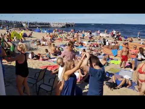 XIII Mega Biba 2016 Gdańsk Poland - Salsa Party on the beach